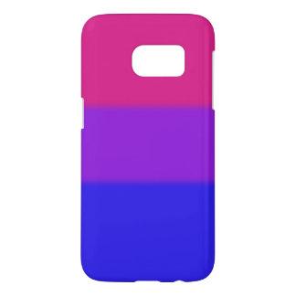 Falln Bisexual Pride Flag Samsung Galaxy S7 Case