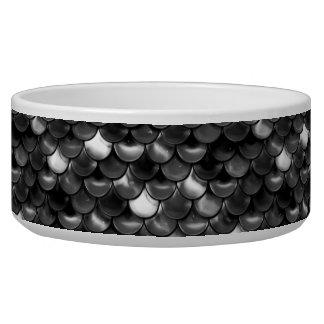 Falln Black and White Scales Bowl