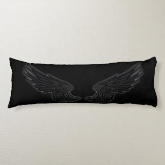 Falln Black Angel Wings Body Pillow