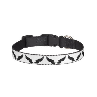 Falln Black Angel Wings Pet Collar
