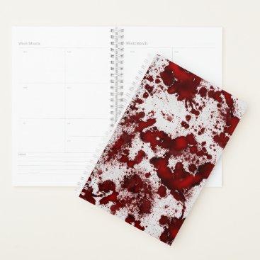 Halloween Themed Falln Blood Splatter Planner