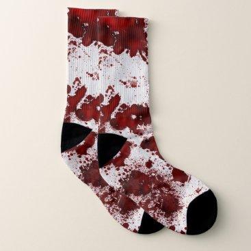 Halloween Themed Falln Blood Splatter Socks