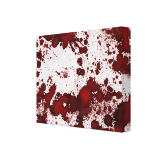 Falln Blood Stains Canvas Print