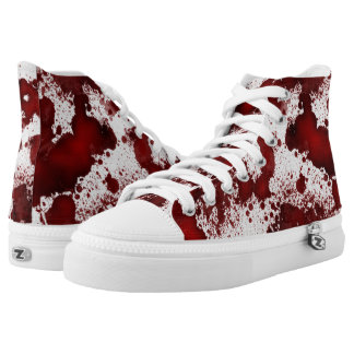 Falln Blood Stains High-Top Sneakers
