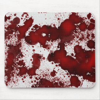 Falln Blood Stains Mouse Pad