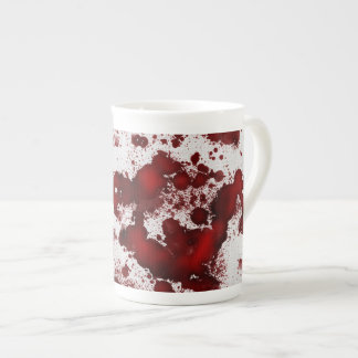 Falln Blood Stains Tea Cup