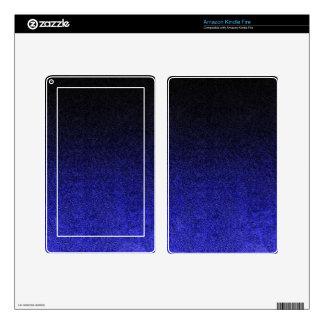 Falln Blue & Black Glitter Gradient Kindle Fire Decals