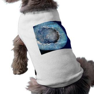 Falln Blue Crystal Geode Shirt