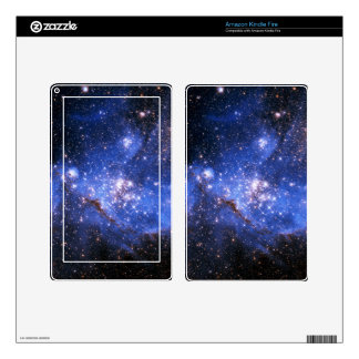 Falln Blue Embrionic Stars Decals For Kindle Fire