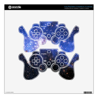 Falln Blue Embrionic Stars PS3 Controller Decal