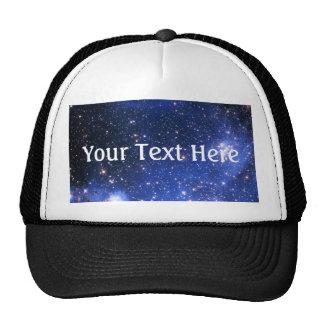 Falln Blue Embrionic Stars Trucker Hat