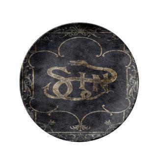 Falln Book of Sin Dinner Plate