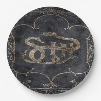 Falln Book of Sin Paper Plate