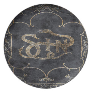 Falln Book of Sin Plate