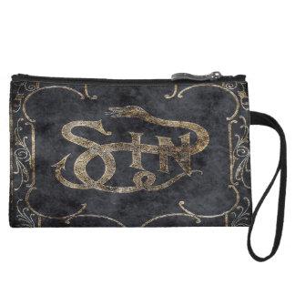 Falln Book of Sin Wristlet Wallet