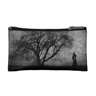 Falln Boundaries Between Original Art Makeup Bag