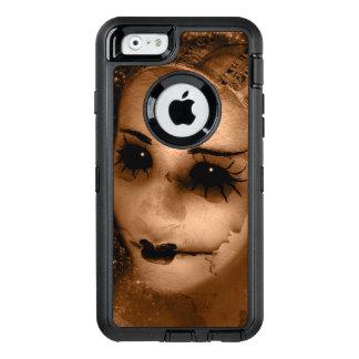 Falln Broken Pierrot OtterBox Defender iPhone Case