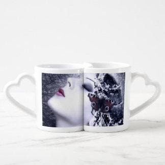 Falln Butterfly Coffee Mug Set