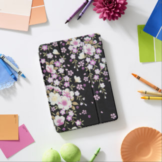 Falln Cascading Pink Flowers iPad Pro Cover