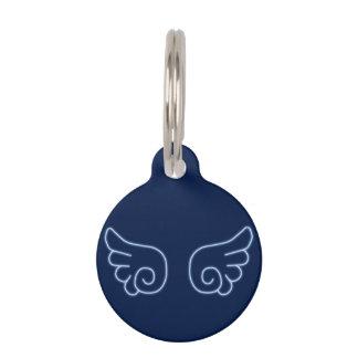 Falln Chibi Angel Wings Pet Name Tag