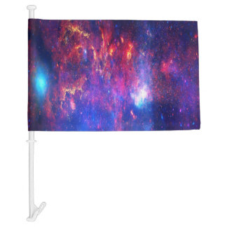 Falln Core of the Milkyway Car Flag