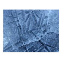 Falln Cracked Ice Postcard