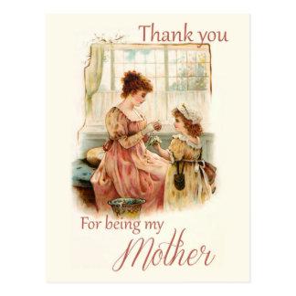 Falln Daisy Chain Mother's Day Postcard