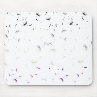 Falln Dandelion Seeds Asexual Pride Mouse Pad