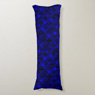 Falln Dark Blue Mermaid Scales Body Pillow