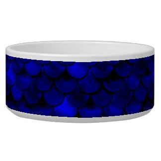 Falln Dark Blue Mermaid Scales Bowl