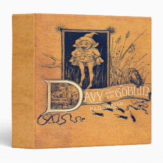 Falln Davy and The Goblin Book 3 Ring Binder