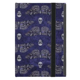 Falln Deathshead Moth and Skulls iPad Mini Case