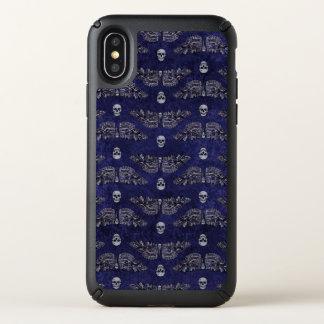 Falln Deathshead Moth Speck iPhone X Case