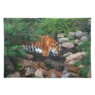 Falln Drinking Tiger Placemat