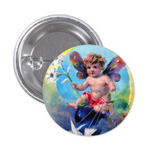 Falln Easter Fairy Pinback Button