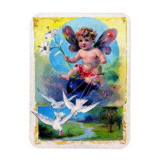 Falln Easter Fairy Rectangular Photo Magnet