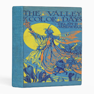 Falln el valle del libro de días del color mini carpeta