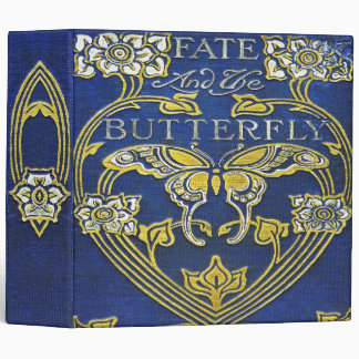 Falln Fate and the Butterfly 3 Ring Binder