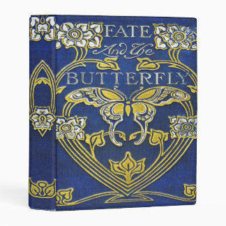Falln Fate and the Butterfly Mini Binder