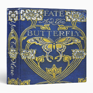 Falln Fate and the Butterfly (text) 3 Ring Binder