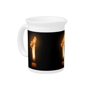 Falln Fire Beverage Pitcher