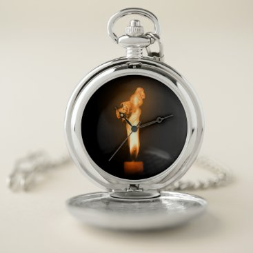Halloween Themed Falln Fire Pocket Watch