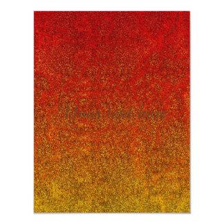 Falln Flame Glitter Gradient Card