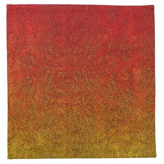 Falln Flame Glitter Gradient Cloth Napkin