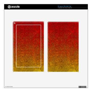 Falln Flame Glitter Gradient Kindle Fire Skins