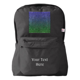 Falln Forest Nightfall Glitter Gradient American Apparel™ Backpack