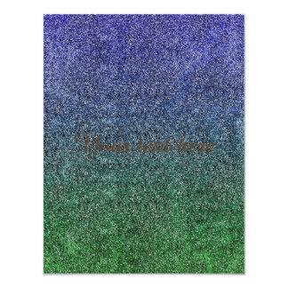 Falln Forest Nightfall Glitter Gradient Card