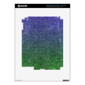 Falln Forest Nightfall Glitter Gradient iPad 3 Decal