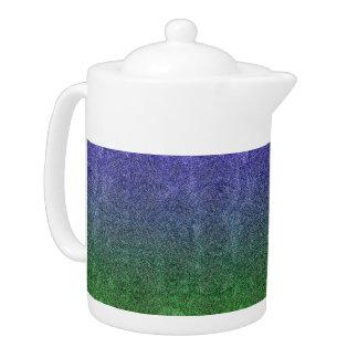 Falln Forest Nightfall Glitter Gradient Teapot