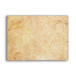 Falln Framed Corners Aged Paper Envelope